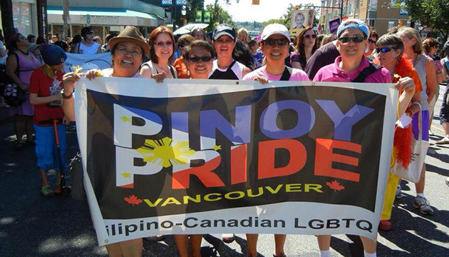 Pinoy Pride Vancouver marches for LGBT community in the Philippines