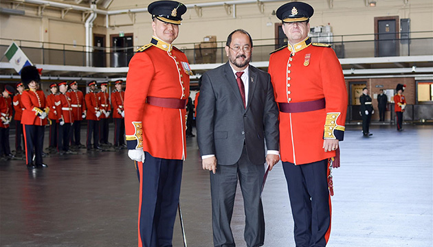 Canadian Pinoy named head of Army Royal Regiment