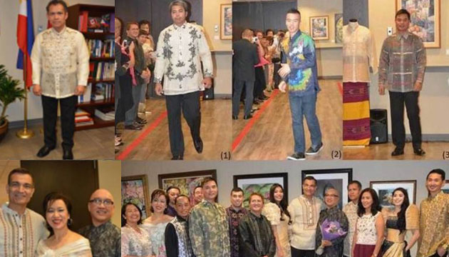 Philippine Consulate General in Vancouver highlights the best of Barong Filipino in fashion show