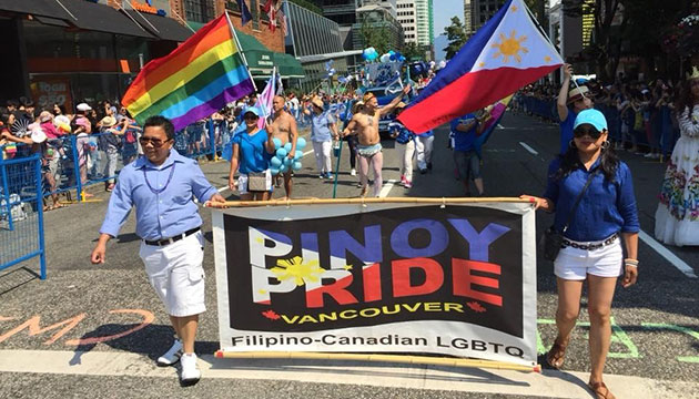Pinoy LGBT group marches in 2018 Vancouver Pride Parade