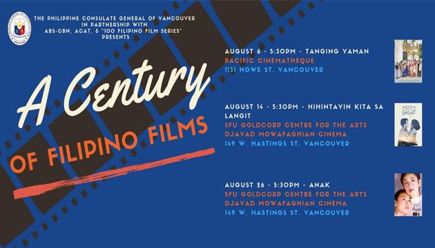 Philippine Consulate in Vancouver presents film festival