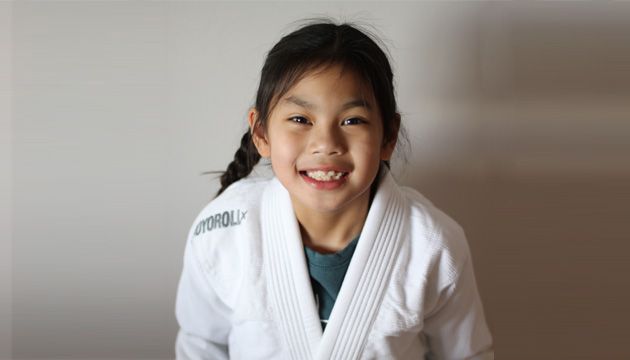 Calgary girl Isla Diesmos making a name in jiu jitsu