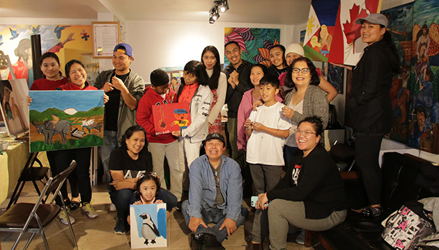 Filipino migrant workers tell their stories through art in Vancouver exhibit MigARTion
