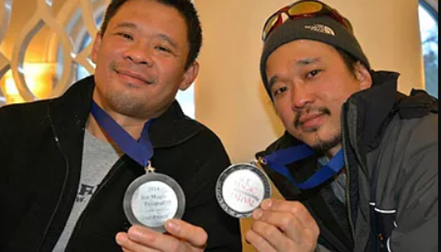 Baisas brothers win international ice carving competition in Edmonton