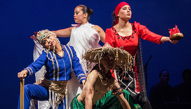 Kababayang Pilipino top bills Vancouver's Scotiabank Dance Centre Open House